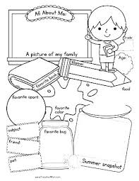 coloring pages worksheets god made me coloring page all about me coloring pages worksheets all