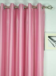 Ready Made Draperies Swan Pink And Red Solid Eyelet Ready Made Curtains Custom