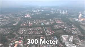 dji phantom 4 300 meter altitude youtube
