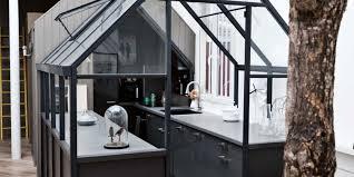 Parisian Kitchen Design Indoor Greenhouse Inside A Modern Parisian Apartment