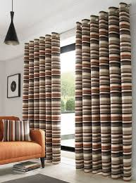 Orange And Brown Curtains Richmond Orange Fully Lined Eyelet Ready Made Curtains