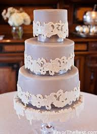 lace applique wedding cake design savor the best