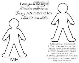 ancestors coloring page