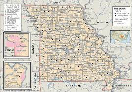 Dallas County Map Historical Facts Of Missouri Counties Guide