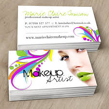 freelance makeup artist business card edgy makeup artist business card template