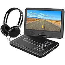what format dvd player read dbpower 10 5 portable dvd player 5 hour rechargeable battery