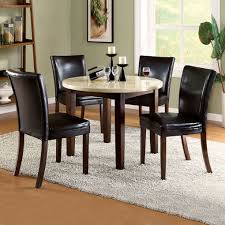 Round Rugs For Dining Room by Round Pedestal Dining Table Gray Rug Area Brown Laminated Wooden
