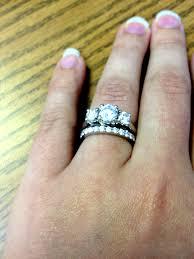 3 stone wedding set tags wedding bands for 3 stone rings wedding