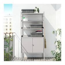 ikea hindo hindö shelf unit w cabinet in outdoor ikea