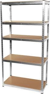 5 Shelf Wire Shelving 5 Shelf Galvanized Steel Shelving Unit Princess Auto