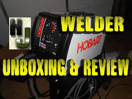 hobart handler 140 welder unboxing setup u0026 review flux core