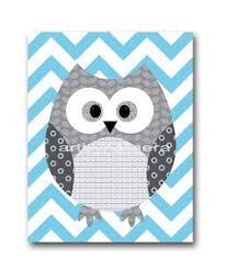 Owl Nursery Decor Owl Decor Baby Boy Nursery Owl Print Wall Boys