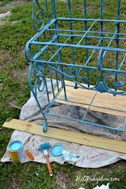 What Do You Put On A Bakers Rack Metal Bakers Rack Makeover