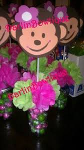 Baby Monkey Centerpieces by 15 Best Allysas Baby Shower Images On Pinterest Monkey Baby