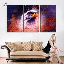 Splash Home Decor Aliexpress Com Buy Unframed The Eagle Wall Art Canvas Home Decor