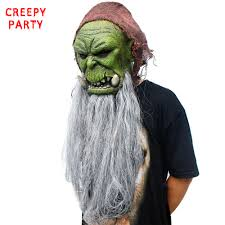 aliexpress com buy orc guldan mask game movie realistic latex