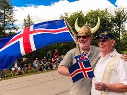 Manitoba Flag Icelandic Festival Of Manitoba
