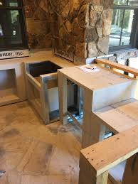 how to build a outdoor kitchen island charlotte area outdoor kitchen island contruction charlotte