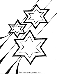 star coloring pages print color craft