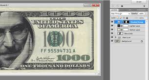 how to make line tone art like on money with photoshop and no