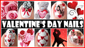 valentine u0027s day nail art designs love is in the air nail