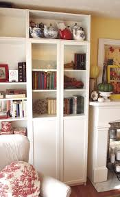 white bookshelf with doors ladder bookcase with drawers white