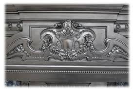 late victorian reclaimed cast iron fireplace