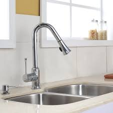 kitchen sink and faucet ideas granite countertop wall mounted