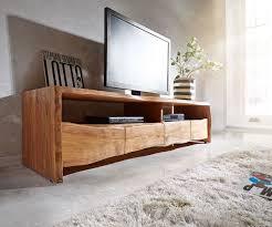 Wohnzimmerschrank Lidl Lowboard Live Edge 190x45 Akazie Natur 4schübe 2 Fächer Premium