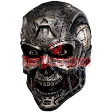costume masks armageddon android skull mask rc 68185 from armoury