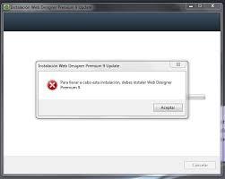 magix web designer 9 magix web designer 9 premium no se deja actualizar