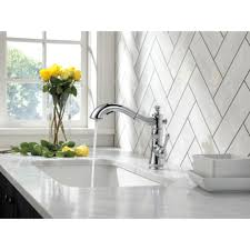 White Kitchen Sink Faucets Sinks Faucets Awesome Modern Delta Cassidy Single Handle Pull Out