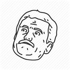 Shocked Meme Face - cartoon funny funny reaction meme old guy reaction shocked
