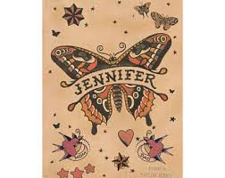 sailor jerry theme etsy