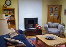 painting brass fireplace doors home baked