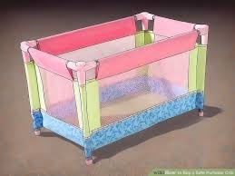 Porta Crib Mattress Size How To Buy A Safe Portable Crib With Pictures Wikihow