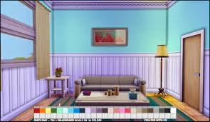 ts4 bead board walls onyx sims