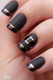 18 awesome winter black nails art designs u0026 ideas 2016 2017
