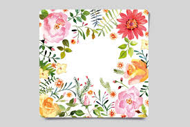 handmade watercolor cards watercolor greeting card card templates creative market