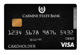 debt cards debit cards