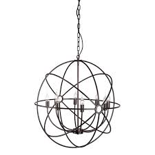 Atom Chandelier Atom Chandelier Silver Lining Collection
