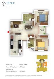 Types Of Floor Plans by Desai Homes Builders In Kerala Flats Apartments And Commercial