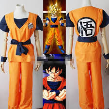Goku Halloween Costumes Fantasia 2016 Dragon Ball Son Goku Son Gohan Kakarotto Cosplay