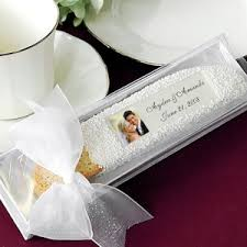 wedding favors unlimited custom photo biscotti wedding favor in gift box