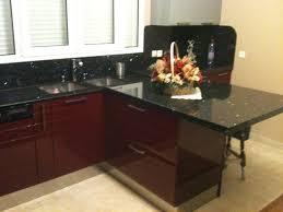 cuisine avec plan de travail en granit plan de travail cuisine 91 granipal