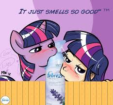 Febreze Meme - smells so good that you bite the can my little pony friendship