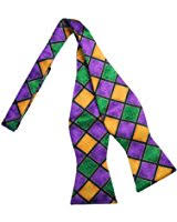 mardi gras bow tie mardi gras bow tie at men s clothing store
