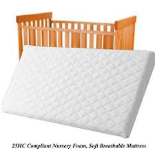 What Is The Size Of A Crib Mattress Nursery Baby Quilted Breathable Cradle Pram Cot Crib Mattress