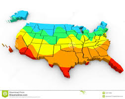 map of usa with compass united states america map average temperatures coldest r