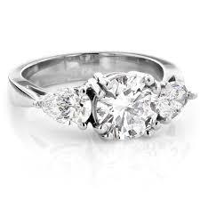 three stone engagement rings three stone diamond engagement rings for sale